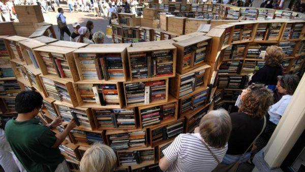 Polderman heeft iets gelezen- Deventer Boekenmarkt